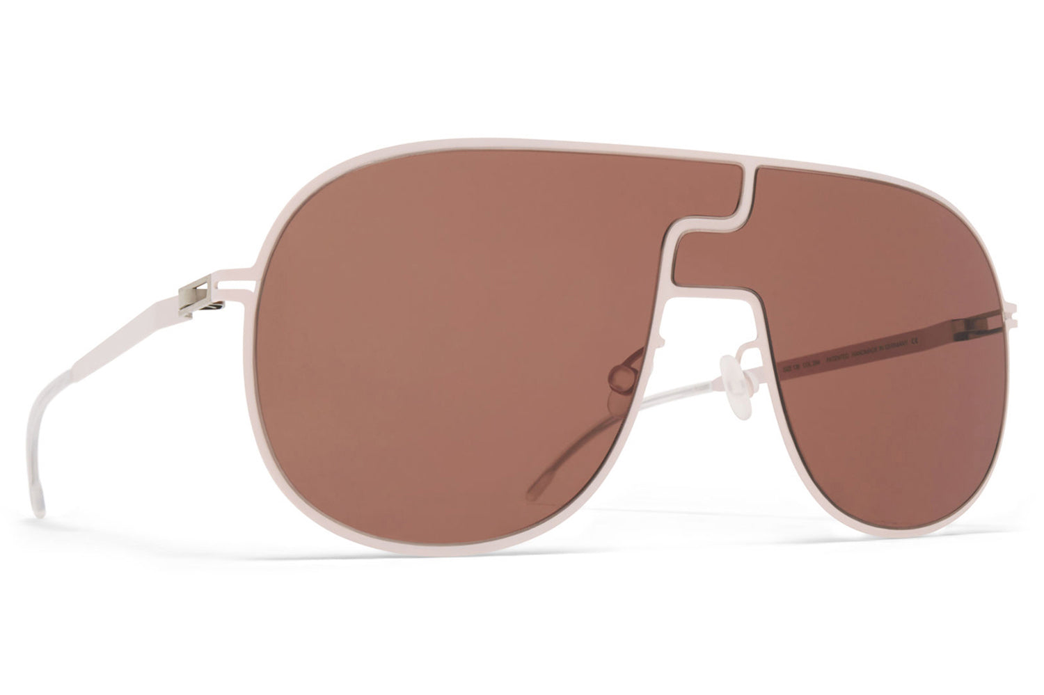 MYKITA - Studio 12.1 Sunglasses Aurore with Rose Wood Brown Lenses