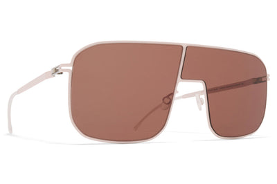 MYKITA - Studio 12.2 Sunglasses Aurore with Rose Wood Brown Lenses