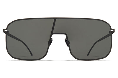 MYKITA - Studio 12.2 Sunglasses Black with Dark Grey Solid Lenses