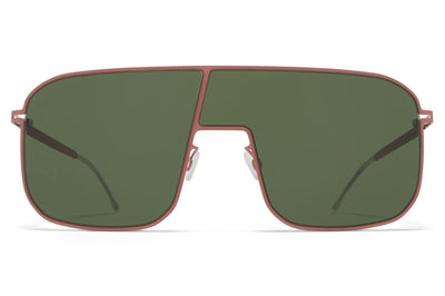 MYKITA - Studio 12.2 Sunglasses Pink Clay with Olive Green Lenses
