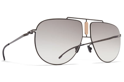 MYKITA STUDIO - Studio 9.1 Sunglasses S19 - Shiny Black/Nude with Original Grey Gradient Lenses