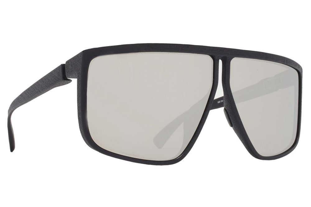 MYKITA + Tim Coppens - Tequilita MD1 - Pitch Black with Silver Shield