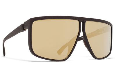 MYKITA + Tim Coppens - Tequilita MD22 - Ebony Brown with Gold Shield