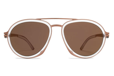MYKITA / Damir Doma  - DD1.2 A9 Copper/Limpid with Copper Flash Lenses