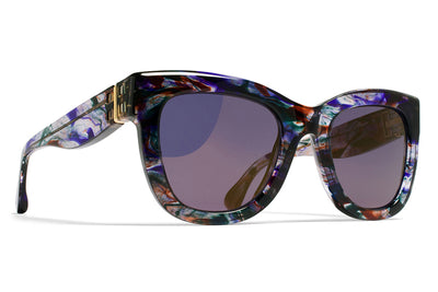 MYKITA / Damir Doma  - Dawn Sunglasses Cloudy Purple with Brilliant Violet Sold Lenses