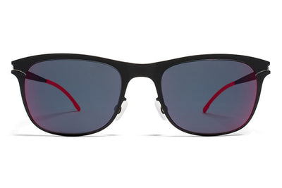 MYKITA First Sunglasses - Jaguar Black with Scarlet Flash Lenses