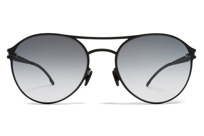 MYKITA First Sunglasses - Sparrow Black with Black Gradient Lenses
