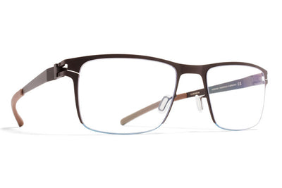 MYKITA Eyewear - Rob Dark Brown/Petrol Blue