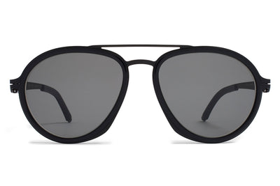 MYKITA / Damir Doma  - DD1.2 A6 Black/Black with Grey Solid Lenses