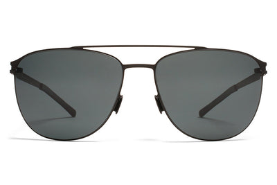 MYKITA Sunglasses - Doug Black with MY+ Black Polarized Lenses