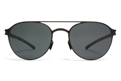 MYKITA Sunglasses - Reginald Black with MY+ Black Polarized Lenses