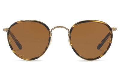 Oliver Peoples - MP-2 (OV1104S) Sunglasses Cocobolo-Antique Gold with Brown Lenses