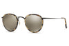 Oliver Peoples - MP-2 (OV1104S) Sunglasses Hickory Tortoise-Matte Black with Dark Grey Mirror Gold Lenses