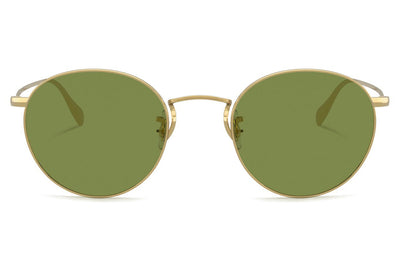 Oliver Peoples - Coleridge (OV1186S) Sunglasses Gold with Green C Lenses