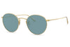 Oliver Peoples - Coleridge (OV1186S) Sunglasses Gold with Cobalto Lenses