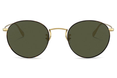 Oliver Peoples - Coleridge (OV1186S) Sunglasses Gold-Tortoise with G-15 Lenses