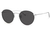 Oliver Peoples - Coleridge (OV1186S) Sunglasses Silver-Black with Carbon Grey Lenses