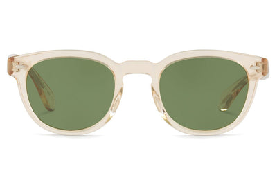 Oliver Peoples - Sheldrake (OV5036S) Sunglasses Buff with Green C Lenses