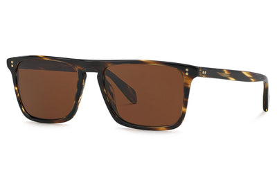 Oliver Peoples - Bernardo (OV5189S) Sunglasses Cocobolo with Brown Polar Lenses