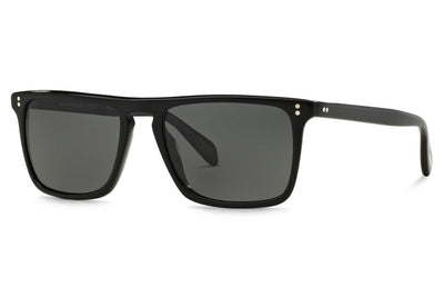 Oliver Peoples - Bernardo (OV5189S) Sunglasses Black with Dark Grey Polar Lenses