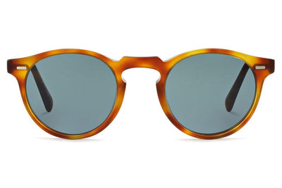 Oliver Peoples - Gregory Peck (OV5217S) Sunglasses Semi-Matte LBR with Indigo Photochromic Lenses