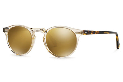 Oliver Peoples - Gregory Peck (OV5217S) Sunglasses Buff DTB with Brown Gold Mirror Lenses