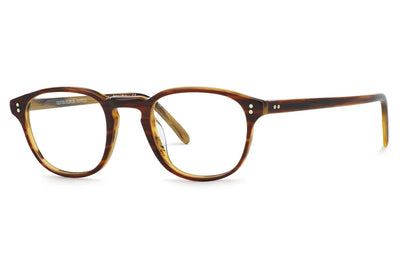 Oliver Peoples - Fairmont - Tailored Fit (OV5219F) Eyeglasses Amaretto-Striped Honey