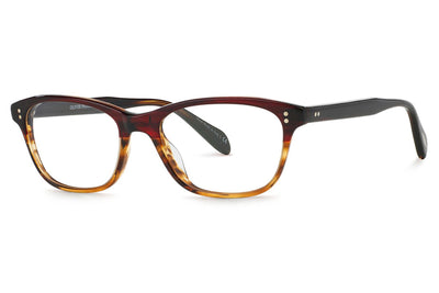 Oliver Peoples - Ashton (OV5224) Eyeglasses Gradient Red Tortoise