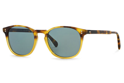 Oliver Peoples - Finley Esq. (OV5298SU) Sunglasses Vintage Brown Tortoise Gradient with Indigo Photochromic Lenses
