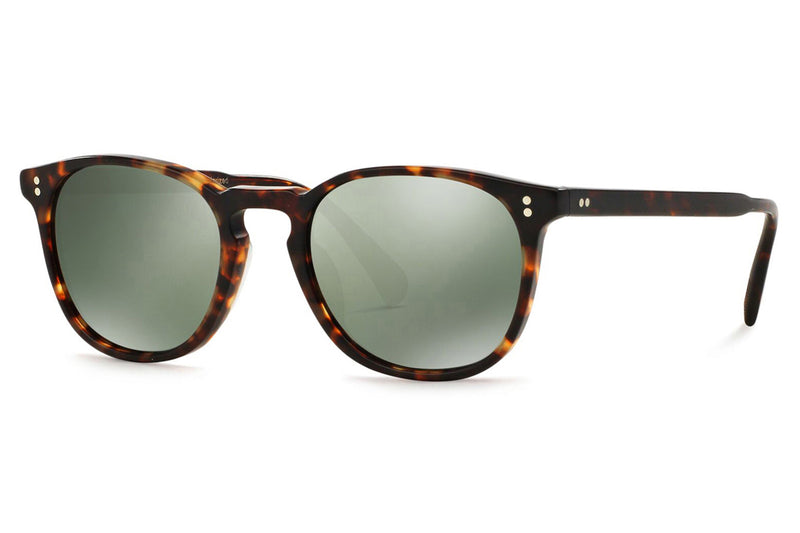 Oliver Peoples - Finley Esq. (OV5298SU) Sunglasses Semi-Matte Sable Tortoise with G-15 Goldtone Polar VFX Lenses