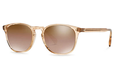 Oliver Peoples - Finley Esq. (OV5298SU) Sunglasses Blush with Light Brown Mirror Gradient Yellow Lenses