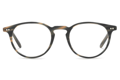Oliver Peoples - Ryerson - Tailored Fit (OV5362F) Eyeglasses Semi-Matte Blue Cocobolo