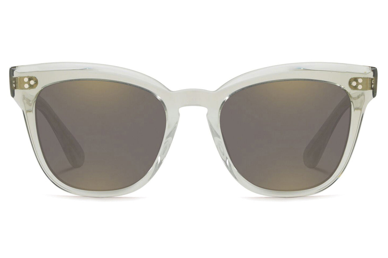 Oliver Peoples - Marianela (OV5372SU) Sunglasses Washed Sage with Grey Mirror Gold Lenses