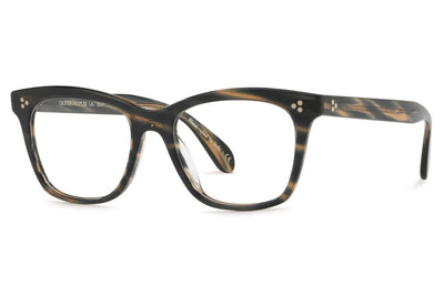 Oliver Peoples - Penny - Tailored Fit (OV5375F) Eyeglasses Blue Cocobolo