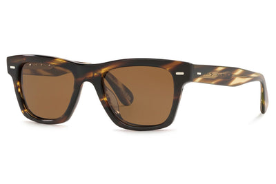 Oliver Peoples - Oliver (OV5393SU) Sunglasses Cocobolo with True Polar Brown Lenses