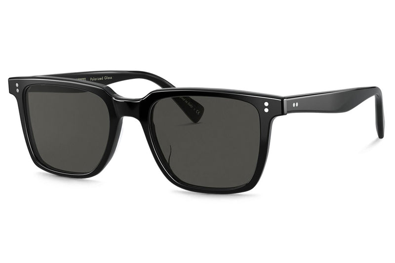 Oliver Peoples - Lachman (OV5419SU) Sunglasses Black with Midnight Express Polar Lenses