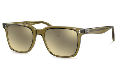 Oliver Peoples - Lachman (OV5419SU) Sunglasses Dusty Olive with Grey Goldtone Lenses