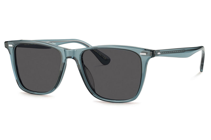Oliver Peoples - Ollis (OV5437SU) Sunglasses Washed Teal with Carbon Grey Lenses