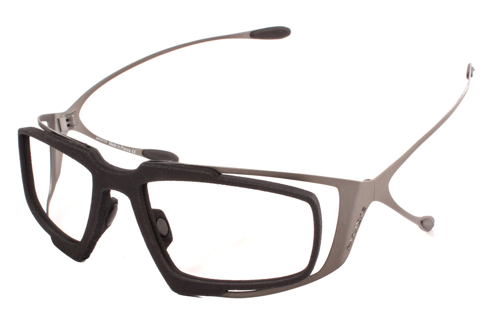 Parasite Eyewear - Re-Nerve Eyeglasses Gunmetal-Black C63M