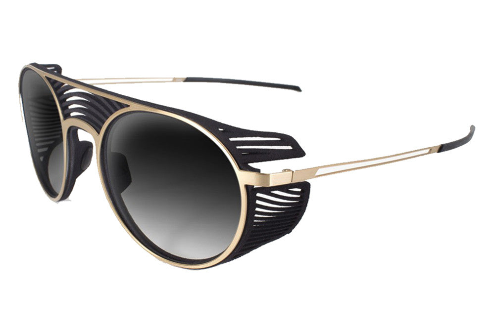 Parasite Eyewear - Anti-Retro X Sunglasses Black-Gold (C79V)