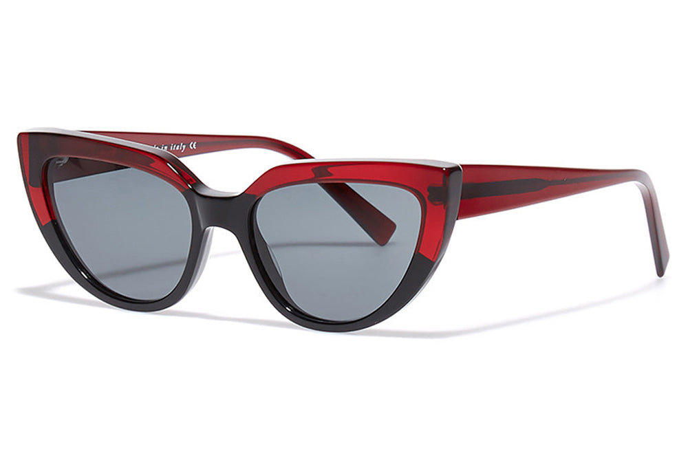 Bob Sdrunk - Peach Sunglasses Black/Red