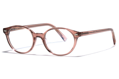 Bob Sdrunk - Poldo Eyeglasses Transparent Brown