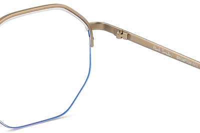 Paul Smith - Brompton Eyeglasses Matte Silver/Blue
