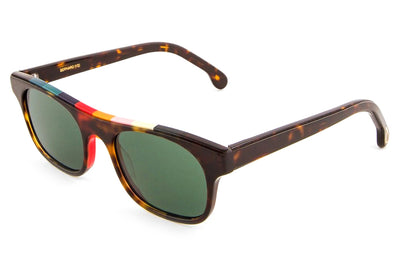 Paul Smith - Bernard Eyeglasses Tortoise/Artist Stripe