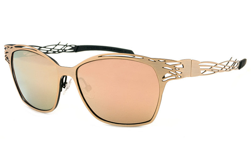 Parasite Eyewear - Racon 7 Sunglasses Gold-Black-Pink LED (C26L)