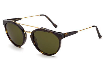 Retro Super Future® - Giaguaro Sunglasses 3627 Green