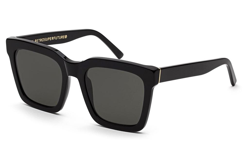 Retro Super Future® - Aalto Sunglasses Black