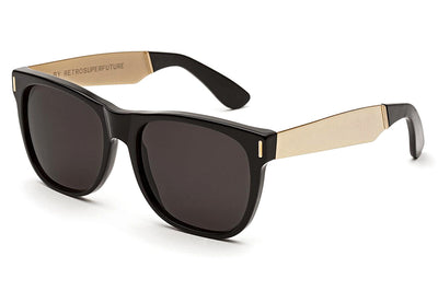Retro Super Future® - Classic Francis Sunglasses Black Gold
