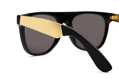 Retro Super Future® - Flat Top Francis Sunglasses Francis Black Gold
