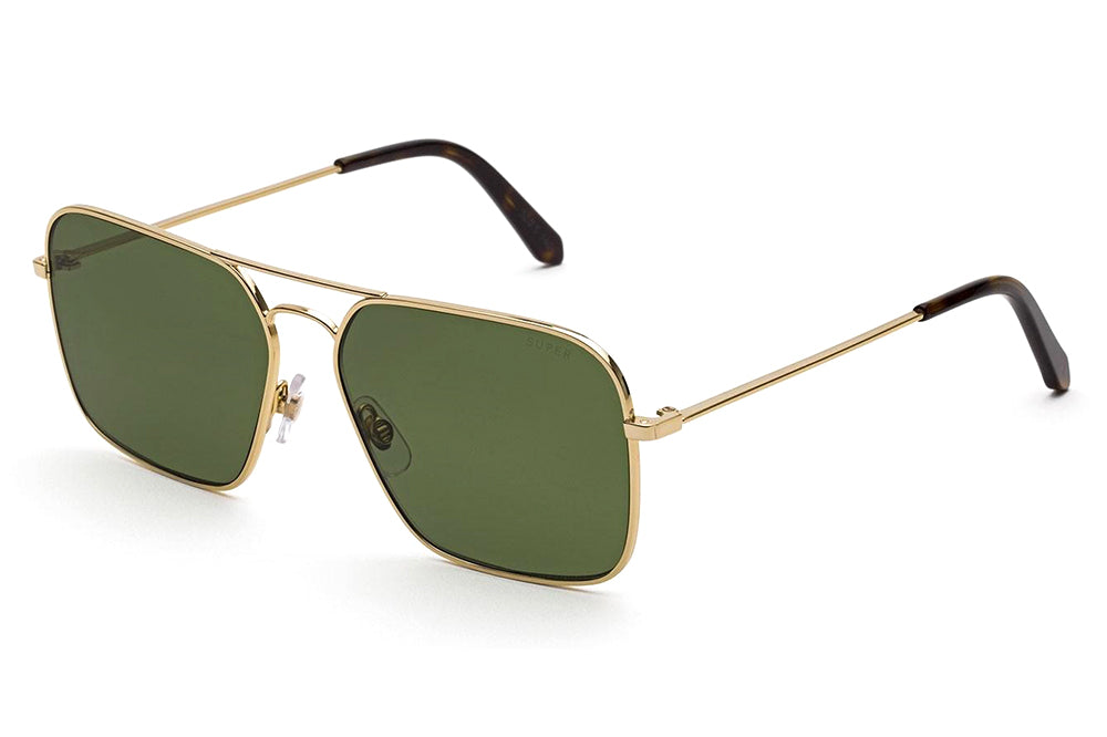 Retro Super Future® - Iggy Sunglasses Green & Havana